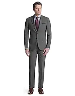 Travel Tech Slim Fit Mini Check Men's Suit Separate Jacket - Big & Tall CLEARANCE by JoS. A. Bank