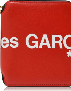 Comme Des Garcons Wallet Small Logo Purse - Red