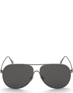 Tom Ford Tf FT08246212C S/G 13 - Smoke/Mirrored