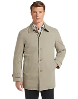 Traveler Collection Traditional Fit Raincoat CLEARANCE