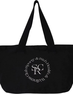 Sporty and Rich Srhwc Tote Bag - Black