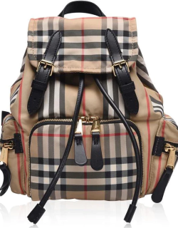 BURBERRY Small Rucksack - Archive Beige