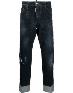 Cool Guy Cropped blue jeans