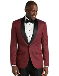 Jos. A. Bank Slim Fit Tonal Floral Formal Dinner Jacket - Big & Tall, by JoS. A. Bank