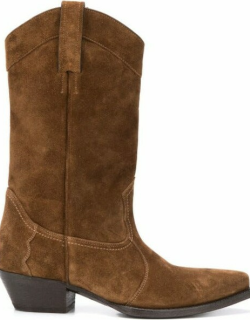 Lukas boots in brown suede
