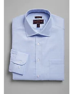 Reserve Collection Tailored Fit Spread Collar Chevron Check Dress Shirt - Big & Tall CLEARANCE, by JoS. A. Bank