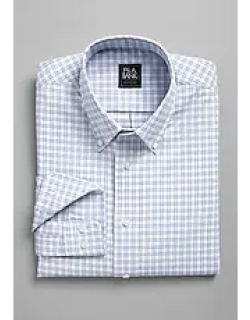 Traveler Collection Slim Fit Button-Down Collar Check Men's Sportshirt - Big & Tall CLEARANCE