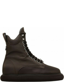 Selene brown ankle boots