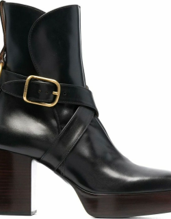 Black Izzie ankle boots