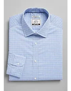 1905 Collection Slim Fit Spread Collar Check Dress Shirt with brrr°® comfort, by JoS. A. Bank