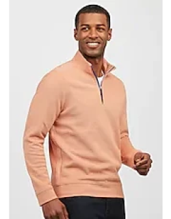 1905 Collection Tailored Fit Quarter Zip Mock Neck Men's Sweater