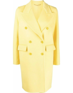 Yellow double breasted coat