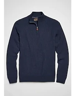 Reserve Collection Wool Blend Quarter-Zip Men's Sweater CLEARANCE