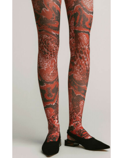 Recycled Printed Accessories Stockings