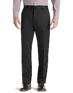 Traveler Collection Original Fit Twill Flat Front Casual Pant - Big & Tall CLEARANCE by JoS. A. Bank