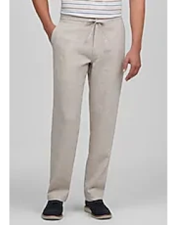 Reserve Collection Tailored Fit Flat Front Linen Blend Sorona® Casual Pants by JoS. A. Bank