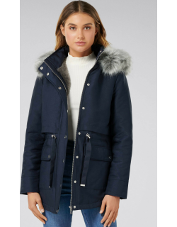 Forever New Women's ARIANNA Parka Jacket in Navy,