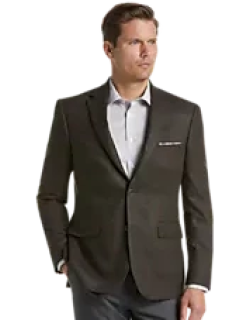 Reserve Collection Tailored Fit Plaid Sportcoat CLEARANCE, by JoS. A. Bank