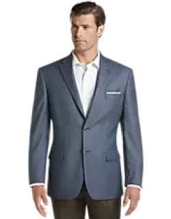 Executive Collection Traditional Fit Mini Check Sportcoat CLEARANCE, by JoS. A. Bank