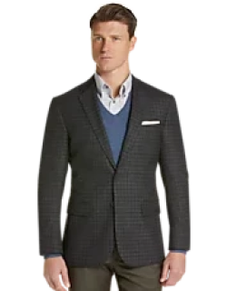 Travel Tech Collection Slim Fit Check Sportcoat CLEARANCE, by JoS. A. Bank