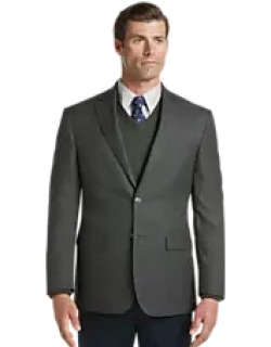 Traveler Collection Tailored Fit Houndstooth Check Sportcoat CLEARANCE, by JoS. A. Bank