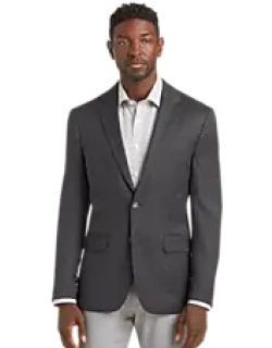 Travel Tech Slim Fit Mini Check Sportcoat CLEARANCE, by JoS. A. Bank
