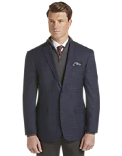Traveler Collection Regal Fit Tattersall Sportcoat CLEARANCE, by JoS. A. Bank