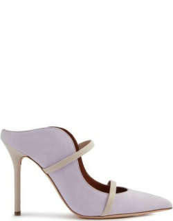 Maureen 100mm - Lilac Suede