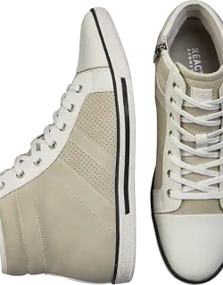 Kenneth Cole Reaction Men's High Top Sneaker White