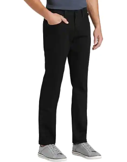 Collection by Michael Strahan Men's Straight-Leg Jeans Black