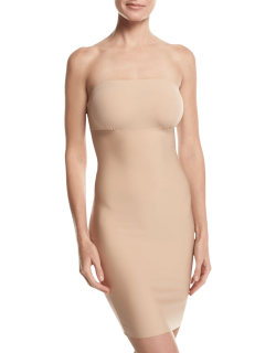 Two-Faced Tech Strapless Control Shapewear Slip