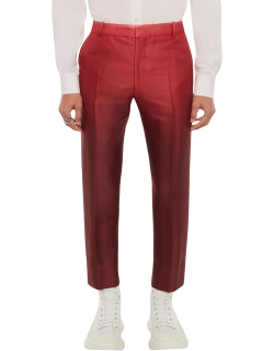Men's Dip-Dyed Cropped Trousers