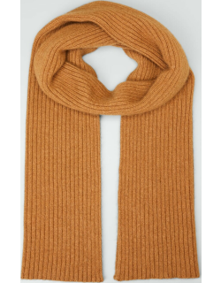 Men's Ribbed Cashmere Scarf
