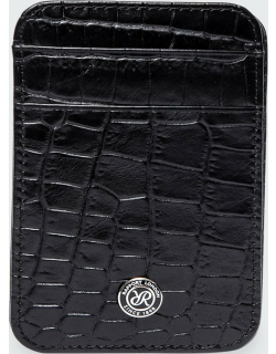 Magic Wallet in Black Leather