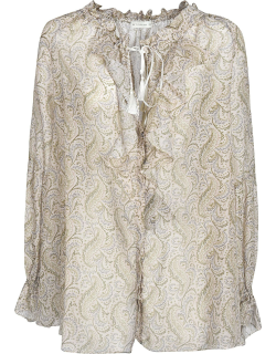Etro Tied Detail Long-sleeved Top