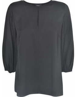 Theory Volume Sleeved Top