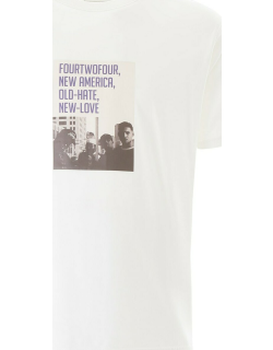 FourTwoFour on Fairfax Old-hate New-love Print T-shirt