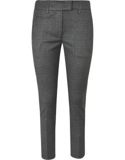 Checked Slim Trousers Dondup