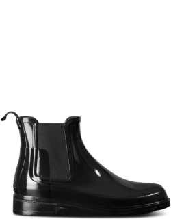 Men's Refined Slim Fit Gloss Chelsea Boots