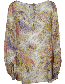 Etro Floral Printed Blouse