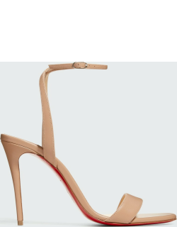Loubigirl Ankle-Strap Red Sole Sandals