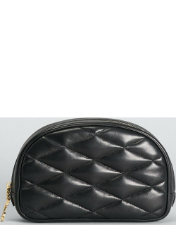 Lolita Quilted Lambskin Cosmetic Pouch Bag
