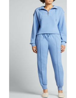 Zella Organic Terry Cropped Pullover