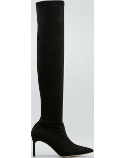 Pascalarihi Suede Thigh-High Stiletto Boots