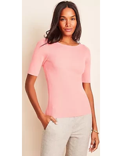 Ann Taylor Boatneck Perfect Pullover