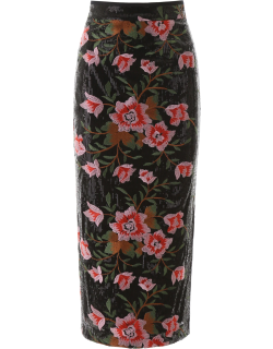 IN THE MOOD FOR LOVE HERA SKIRT M Black, Pink, Red