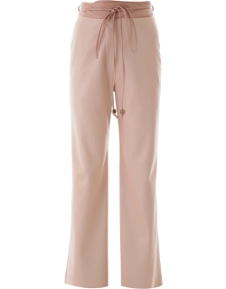 NANUSHKA FAUX LEATHER TROUSERS S Pink Faux leather