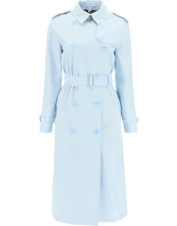 BURBERRY WATERLOO TRENCH COAT 8 Light blue Cotton