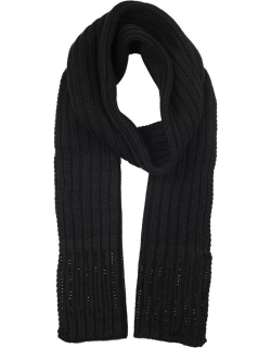 Dents Women's Diamante Knitted Scarf In Black