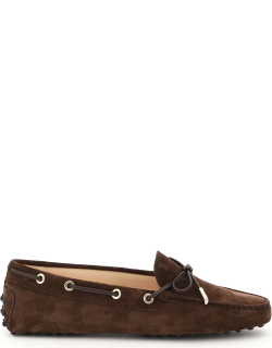 TOD'S HEAVEN LOAFERS GOMMINI 39 Brown Leather